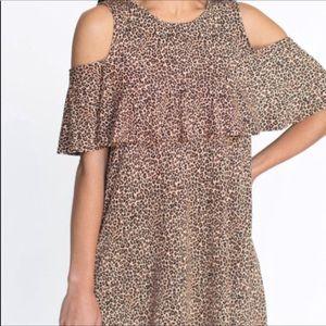 "Agnes and Dora ""Roar"" Cold Shoulder Shirt / Dress"